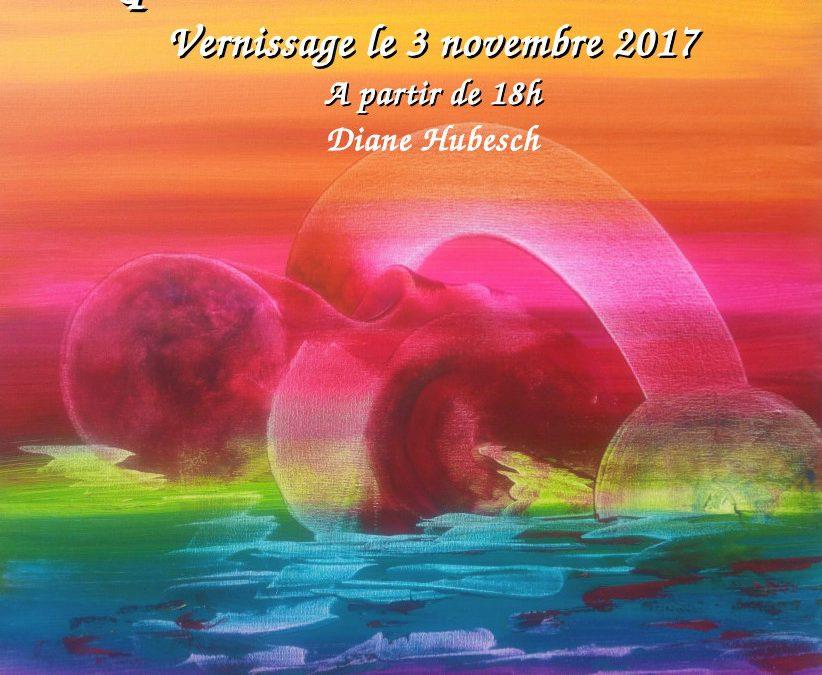Invitation Vernissage Diane Hubesch