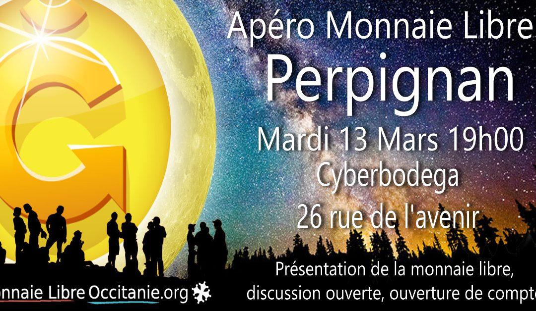 Apéro Monnaie Libre à Perpignan