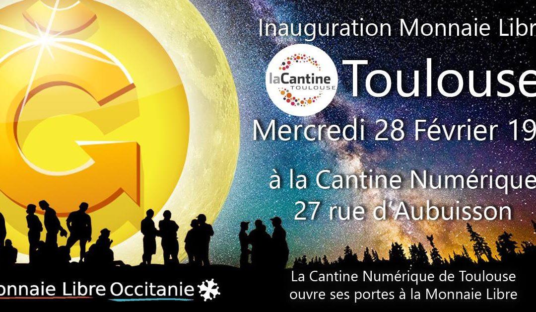Inauguration Monnaie Libre à la Cantine Numérique