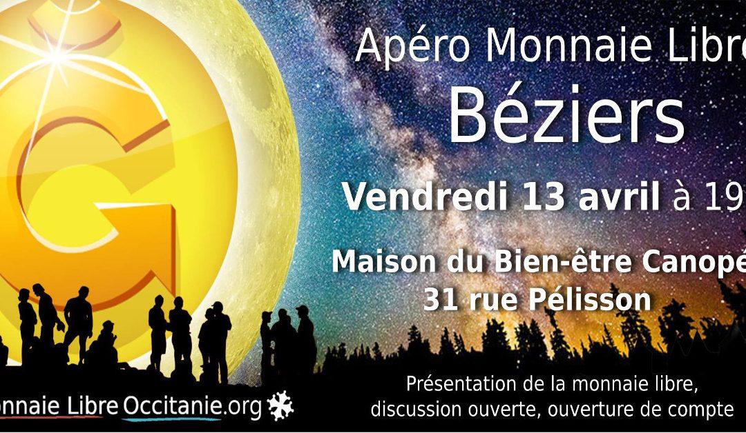 Apéro Monnaie Libre à Béziers