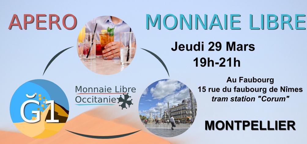 Apéro Monnaie Libre à Montpellier – #2018-03