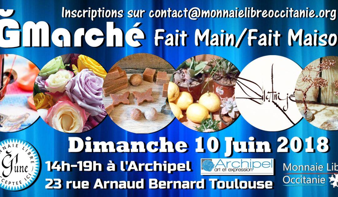 1er ĞMarché Fait Main / Fait Maison à Toulouse