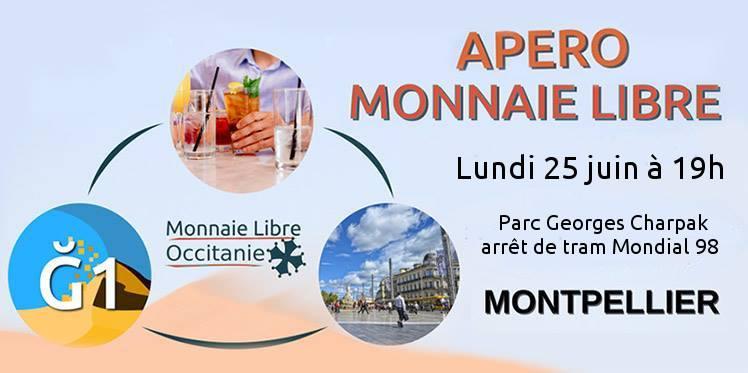 Pique-nique Monnaie Libre à Montpellier