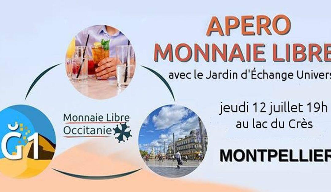 Apéro Monnaie Libre et JEU à Montpellier